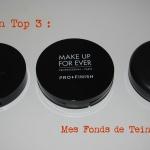 #Le Top 3 du Dimanche: Mes Poudres Fond de Teint