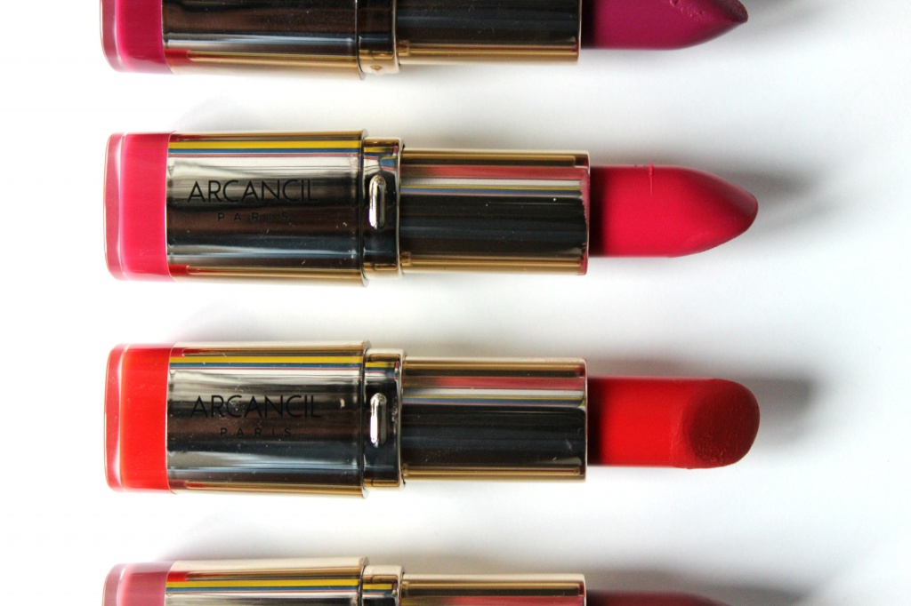 Top Lipstick Addict : Les Rouges à Lèvres Very Mat d'Arcancil GI79