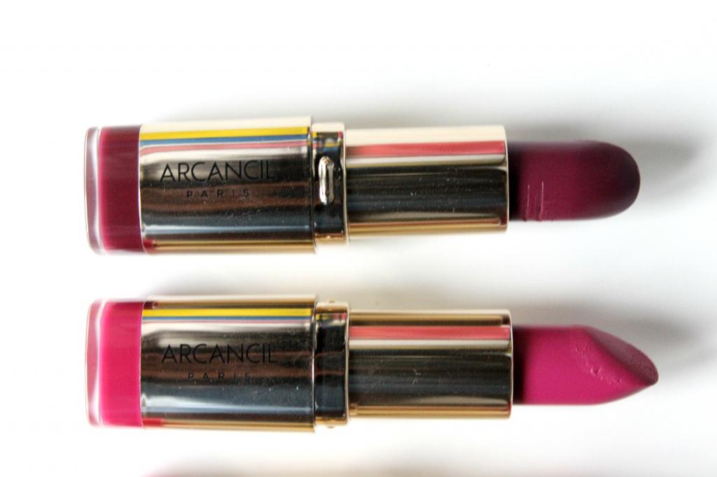 Populaire Lipstick Addict : Les Rouges à Lèvres Very Mat d'Arcancil HT93